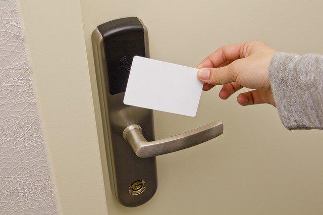 Access Card Doorknob Electronic Door