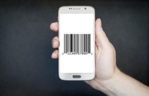 Smartphone Bar Code Contactless