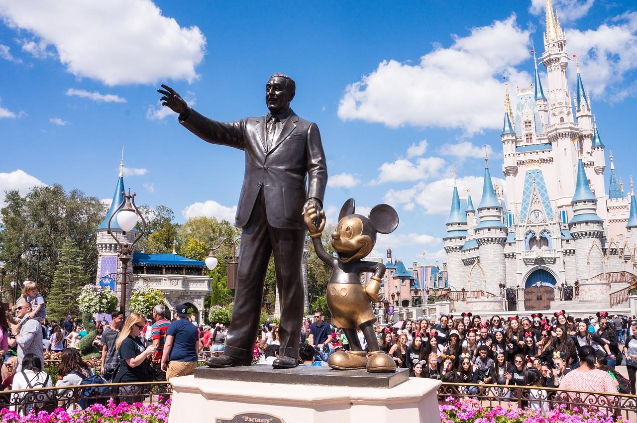 Disney Florida Magic Kingdom  - HenningE / Pixabay