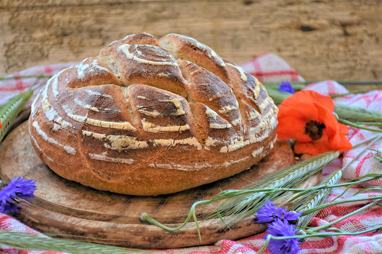Bread Wheat Rye Dough Sauereig  - RitaE / Pixabay