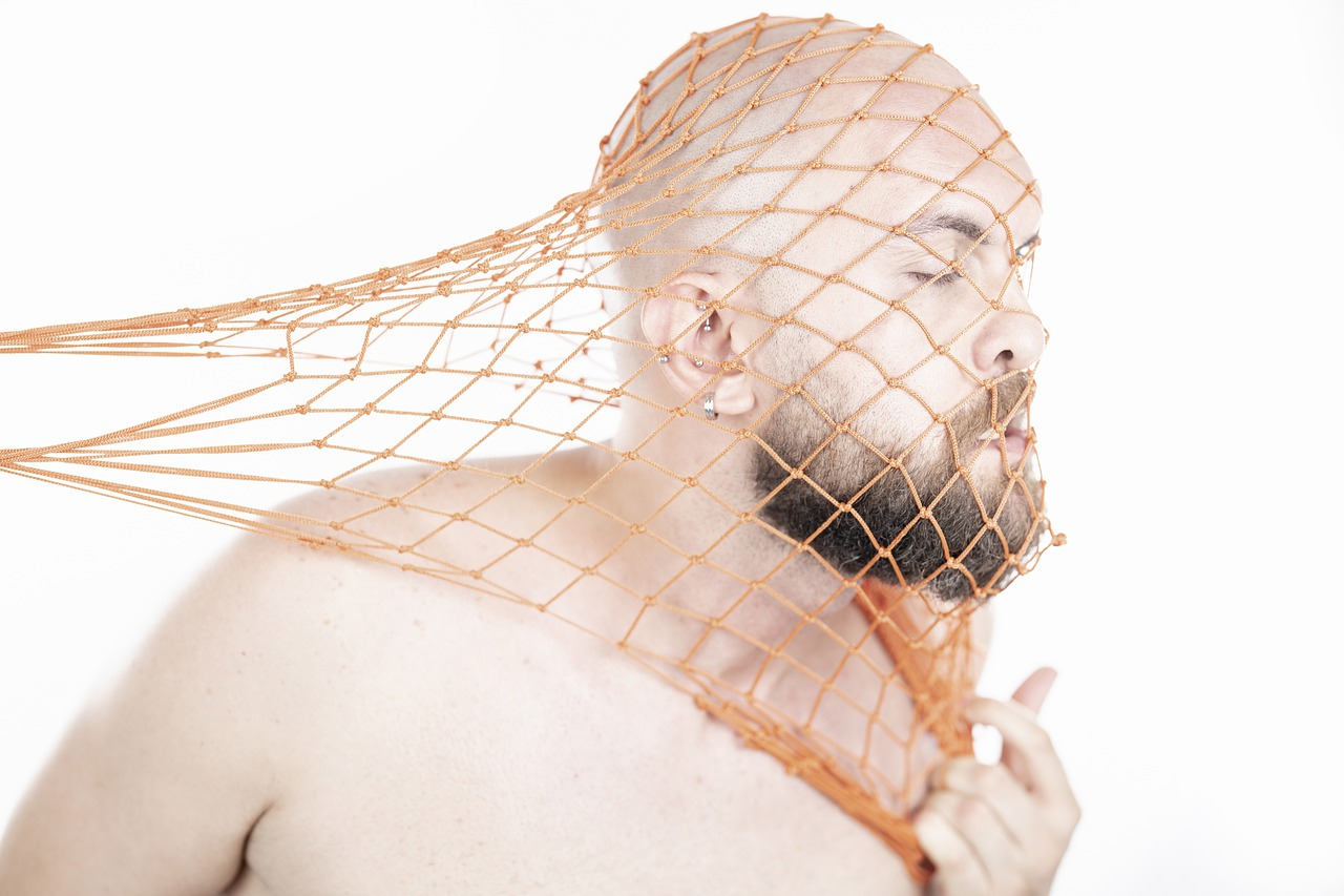 Man Model Face Net Fashion Male  - Engin_Akyurt / Pixabay
